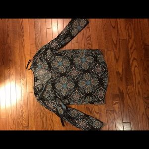 Boutique boho top looks awesome w jeans